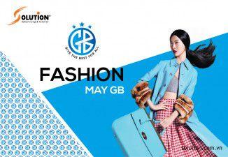 Thiết kế logo thương hiệu thời trang May GB