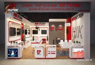 Thiết kế nội thất Showroom Camera An Thành