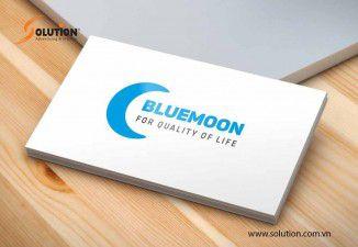 Thiết kế logo Công ty TNHH Thương Mại BLUE MOON