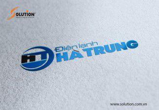 Thiết kế logo Điện lạnh Hà Trung