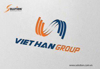 Thiết kế logo Việt Hàn Group