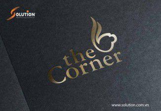 Thiết kế logo quán cafe The Corner