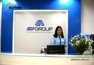 Thiết kế logo ATP GROUP