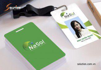 Thiết kế bộ nhận diện thương hiệu Dược phẩm Nasol Quốc tế