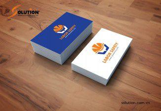 Thiết kế logo Labor Safety - Công ty Bảo hộ lao động Lasa