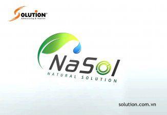 thiết kế logo Công ty Dược phẩm Nasol Quốc tế