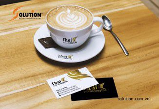 Thiết kế logo trà sữa Thai Jing Cha