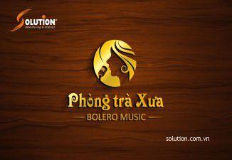 Thiết kế logo Phòng trà Xưa