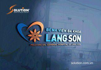 Thiết kế logo Bệnh viện Lạng Sơn