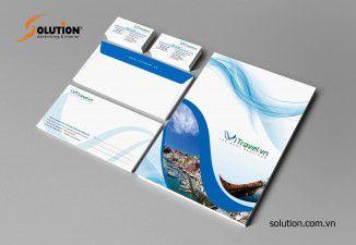Thiết kế bộ nhận diện thương hiệu Vitravel