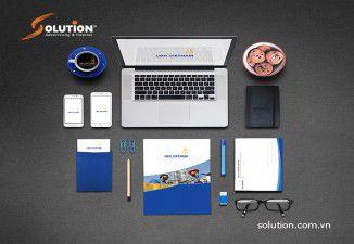 Thiết kế bộ nhận diện thương hiệu LMK