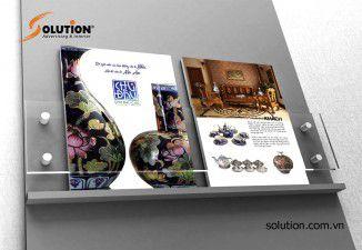 Thiết kế Brochure Công ty Cổ phần gốm sứ Chu Đậu Hải Dương