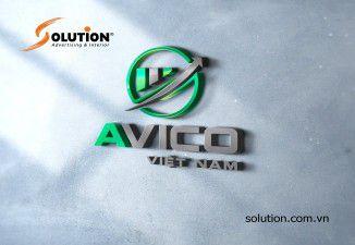 Thiết kế logo Công ty AVICO Việt Nam