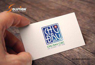 Thiết kế logo Công ty Cổ phần gốm sứ Chu Đậu Hải Dương