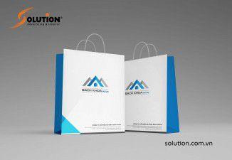 Thiết kế bộ nhận diện thương hiệu Bách Khoa Beton