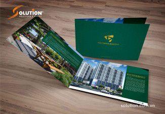 Thiết kế Brochure Northern Diamond- Công ty CP xây dựng Sông Hồng