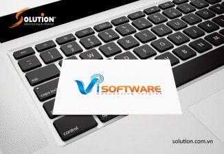 Thiết kế logo ViSoftware