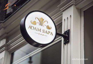 Thiết kế biển quảng cáo khách sạn ADAM SAPA