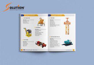 Thiết kế catalogue Vinh Quang Group