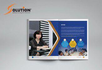 Thiết kế catalogue công ty Đại Việt