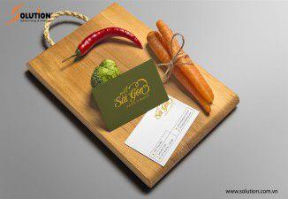 Thiết kế bộ Sales kit nhà hàng Nét Sài Gòn