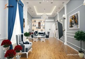 Thiết kế nội thất Showroom áo cưới Juliet