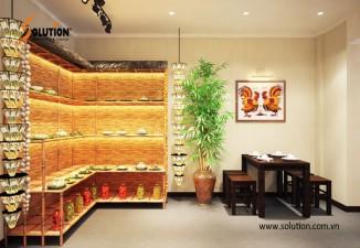 Thiết kế nội thất nhà hàng Cơm Niêu 42Z Lý Thường Kiệt