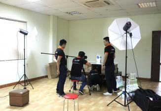 Hậu trường chụp ảnh quảng cáo cho công ty TNHH JP Colerex