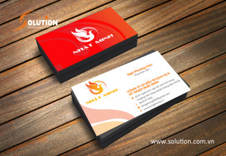 Thiết kế Bộ nhận diện thương hiệu công ty Nhật Minh
