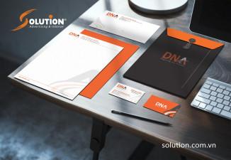Thiết kế bộ Sales Kit Công ty cổ phần DNA Việt Nam