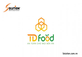 THIẾT KẾ LOGO TD FOOD