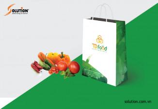 Thiết kế bộ Sales Kit TD Food