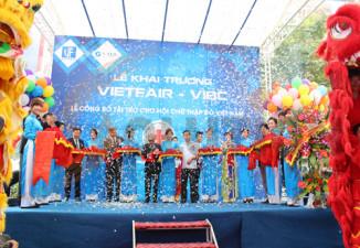 Trung tâm thương mại và triển lãm Quốc tế Việt Nam (VIBC) tổ chức khai trương
