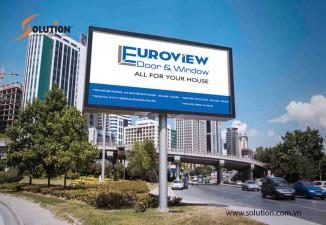 Thiết kế biển quảng cáo, biển tên Euro View
