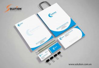Thiết kế bộ sales kit công ty Blue Moon
