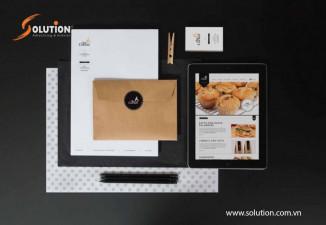 Thiết kế Bộ tài liệu bán hàng chuyên nghiệp The Corner