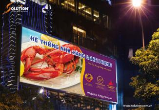 Thiết kế biển quảng cáo Nhà hàng Long Phụng
