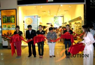 Lễ ra mắt hãng giày ECCO