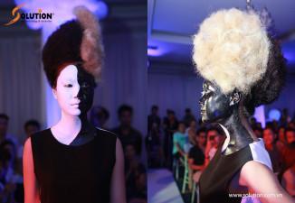 Biểu diễn nghệ thuật lễ hội tóc HEAVEN FLYING 2015