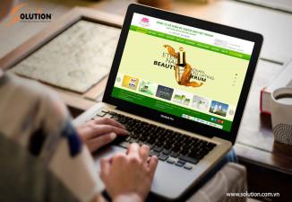 Thiết kế website công ty Sen Việt