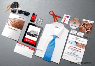 Thiết kế bộ sales Kit công ty Toàn Phát