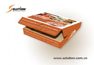 Thiết kế bao bì, hộp đựng sản phẩm Daily Meal