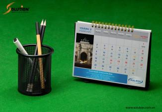 Thiết kế lịch bàn Doanh nghiệp Tư nhân Dũng Đông
