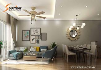Thiết kế thi công nội thất nhà ở căn hộ chung cư cao cấp tại PARK HILL