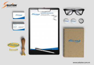 Thiết kế bộ sales Kit công ty Dũng Đông