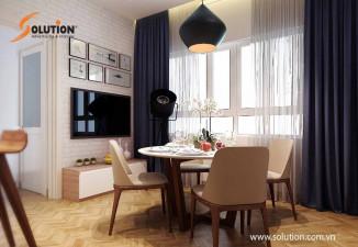 Thiết kế thi công nội thất chung cư nhà ở Long Biên