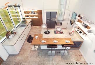 Thiết kế nội thất nhà ở Nam An Khánh