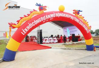 Lễ khởi công dự án mở rộng kho phụ tùng HONDA