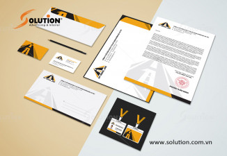 Thiết kế bộ nhận diện thương hiệu công ty HT Road