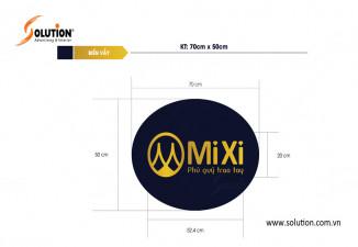Thiết kế biển quảng cáo Công ty CP Phong thủy Mixi